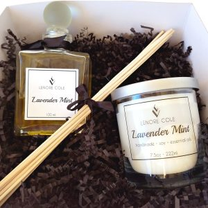 candle diffuser gift set